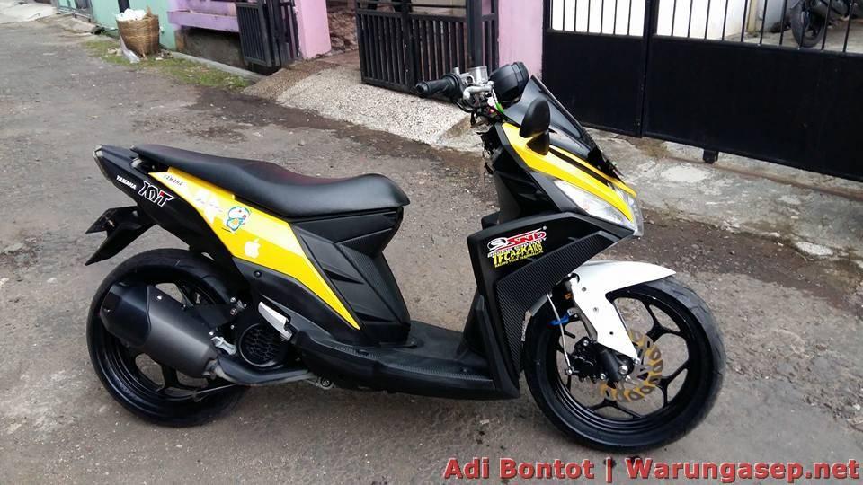 Mio M3 125 Milik Abg Dengan Variasi Ringan Motobikerz Com
