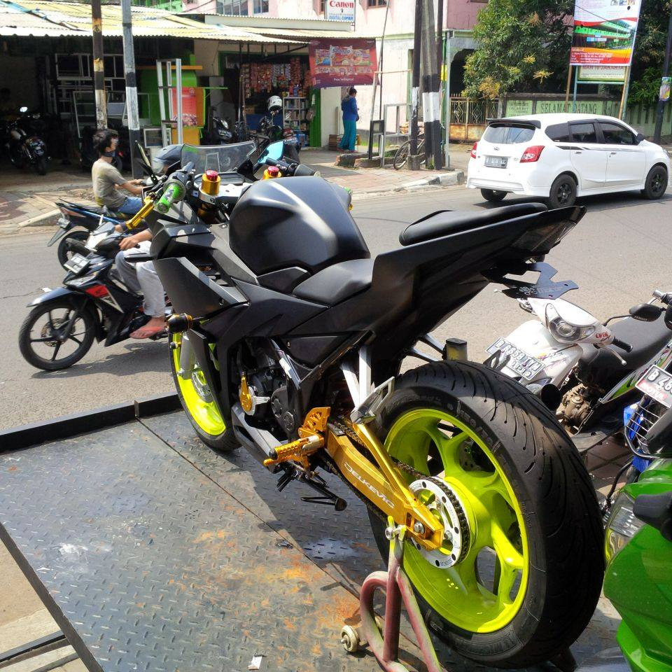 all new cbr 150 modifikasi - warungasep