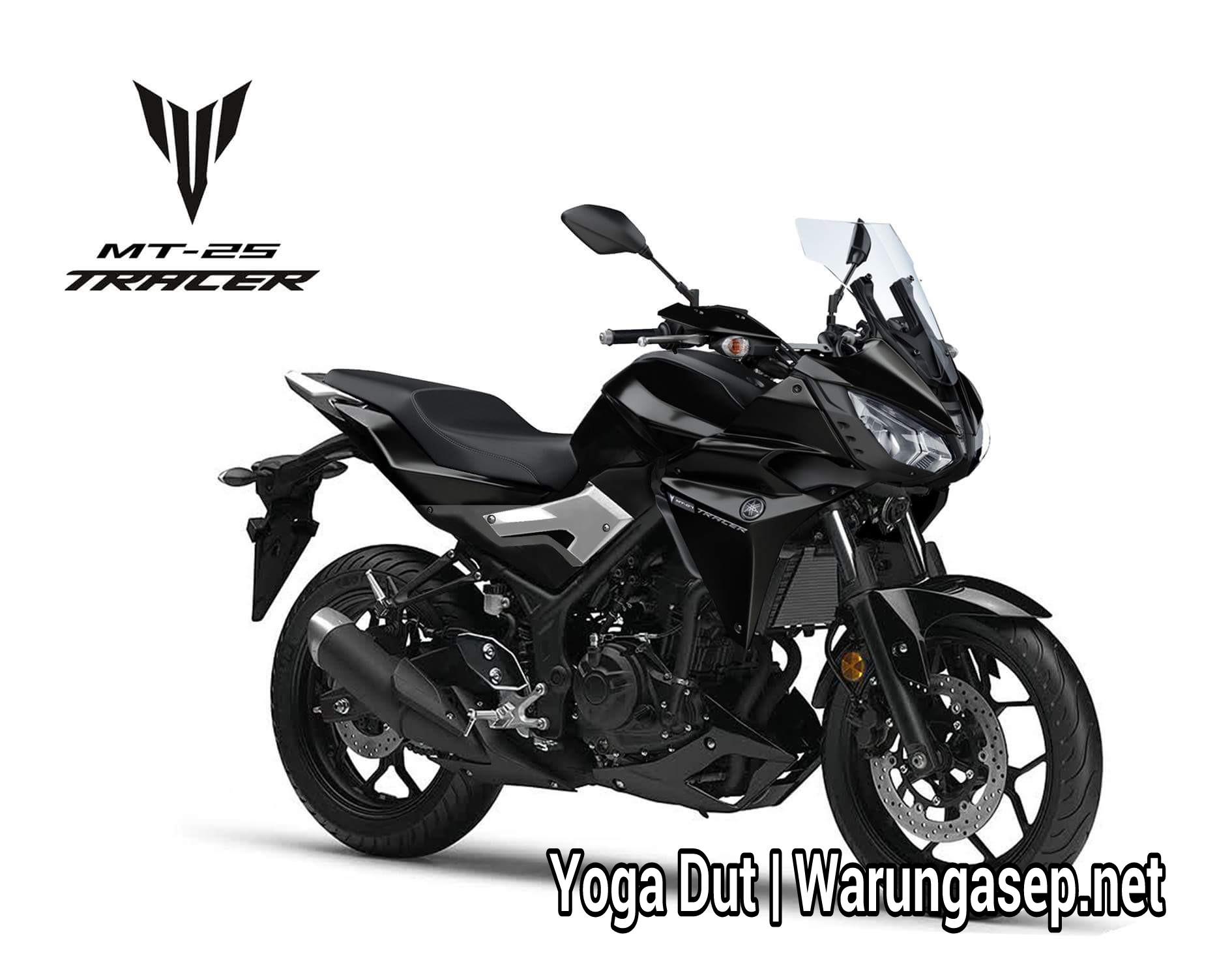 yamaha mt-25 tracer… konsep motor 250cc adventure dari yamaha