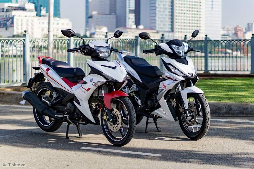 Yuk Kita Adu Ganteng Honda Supra GTR150 dan Yamaha MX-King ...