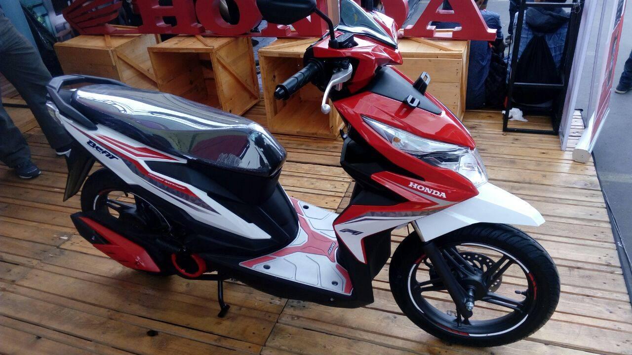 Kumpulan Modif Honda Beat Esp Merah Putih Terlengkap Botol Modifikasi