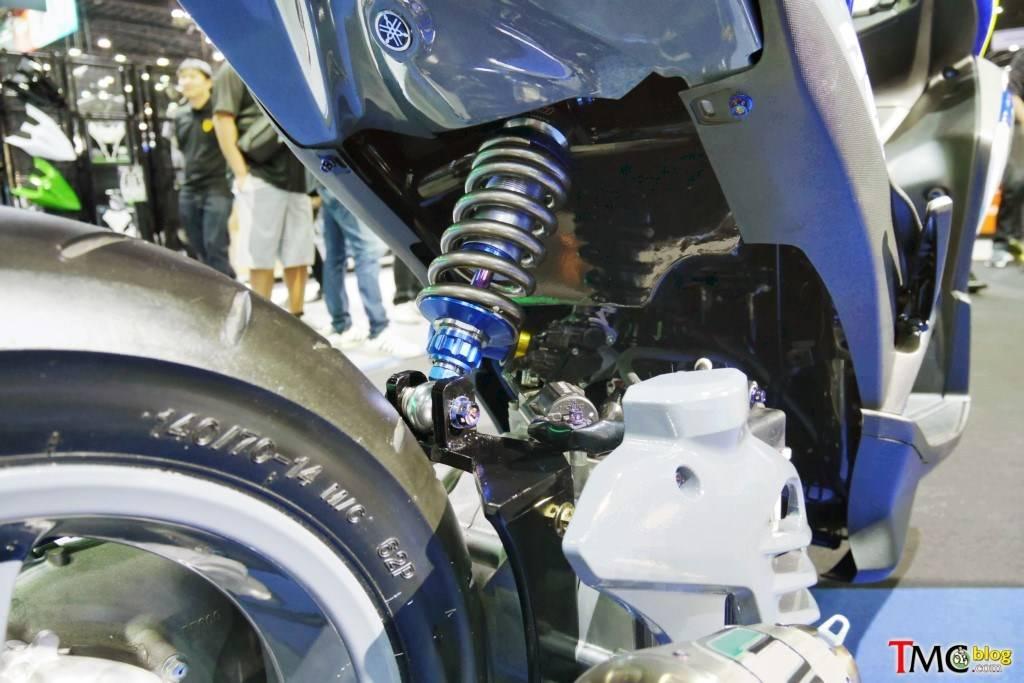 Modifikasi Yamaha Aerox 155 Suspensi Monoshock | WARUNGASEP
