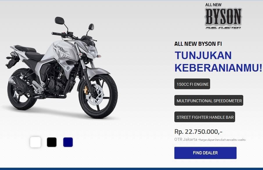 Yamaha Byson 2017