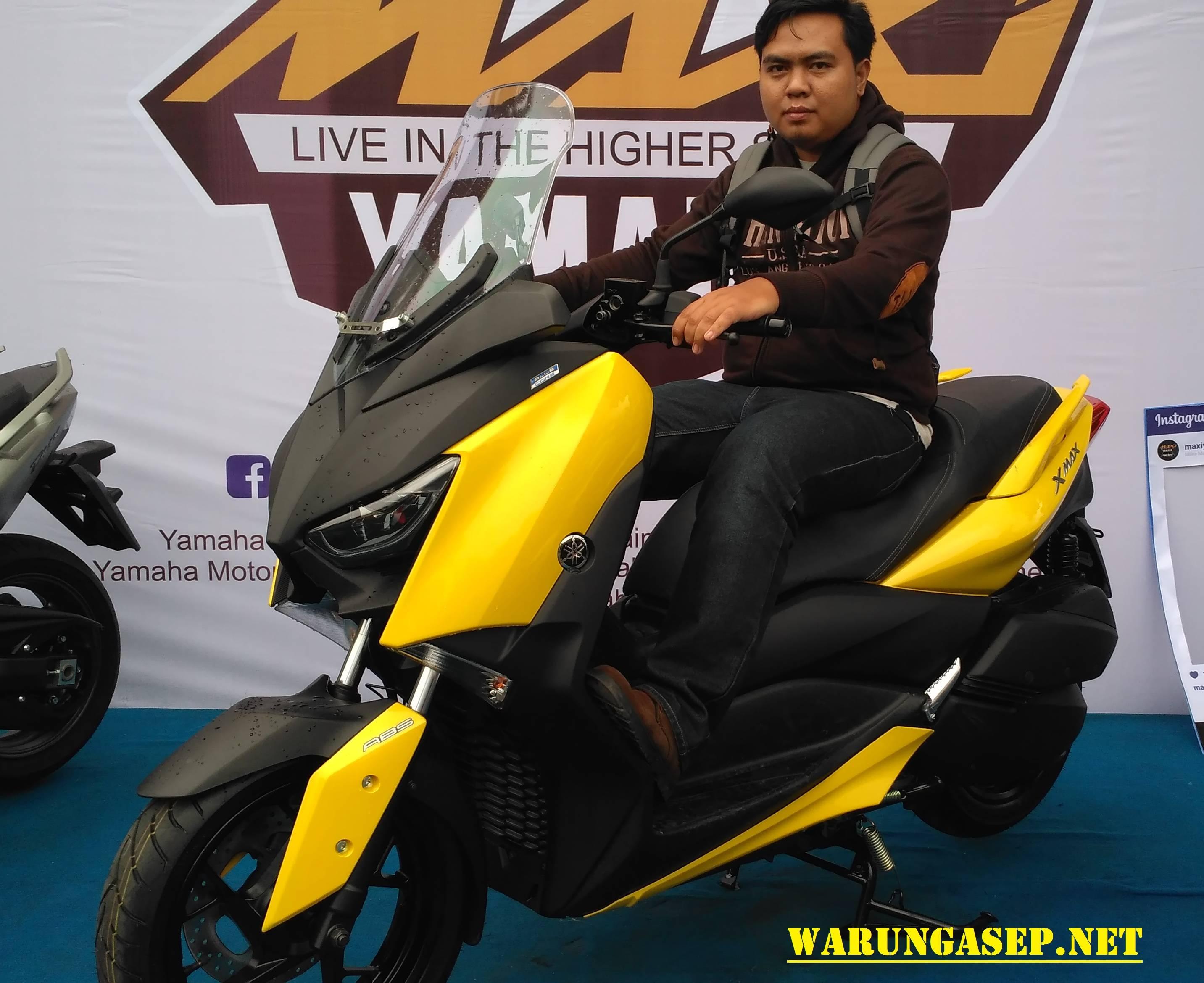 xmax kuning warungasep