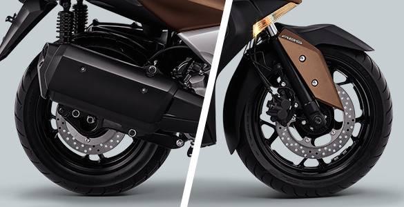 Fitur Yamaha XMAX 250cc 2017 Rem Abs