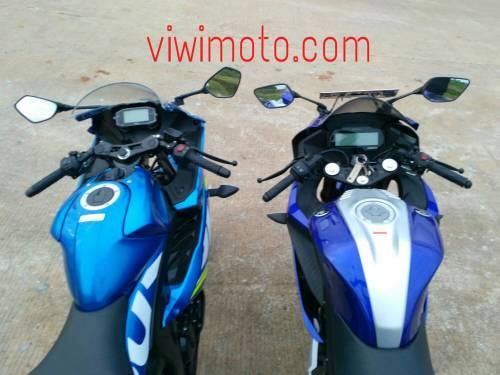 Perbandingan Gsx R150 Vs All New Yamaha R15 Stang