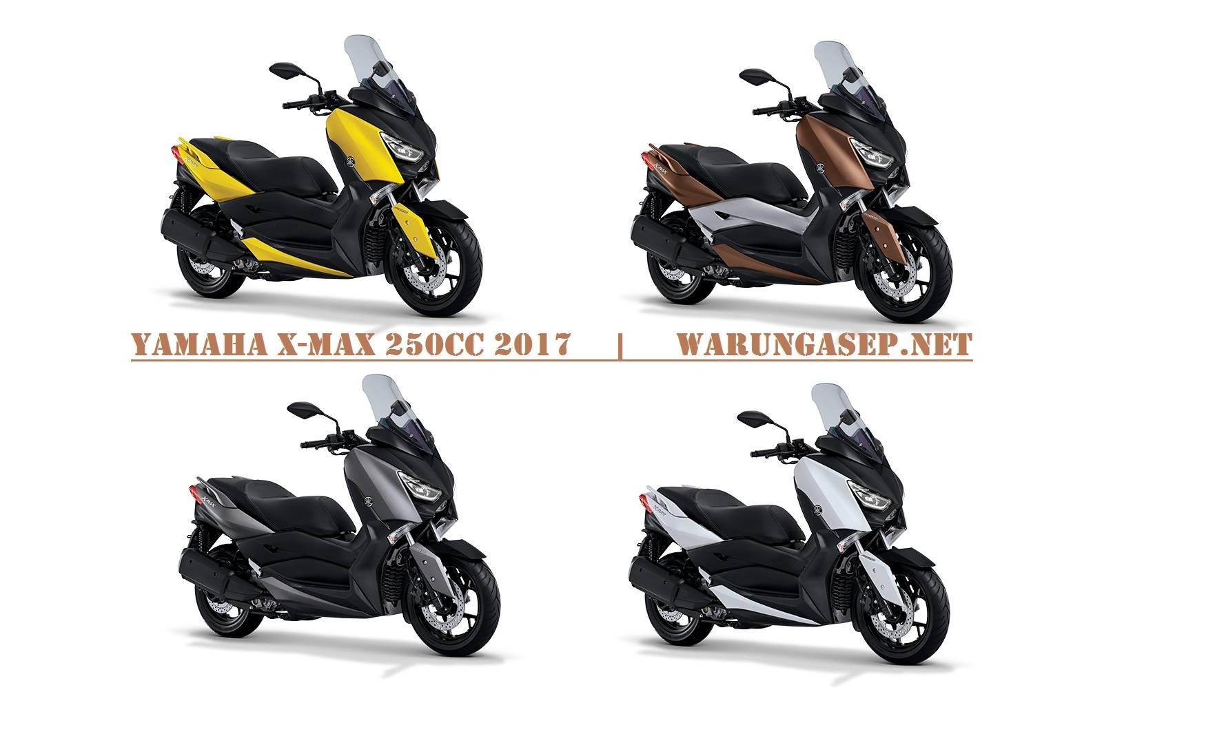 Foto 4 Pilihan Warna Yamaha XMax 250cc 2017 Ada Warna
