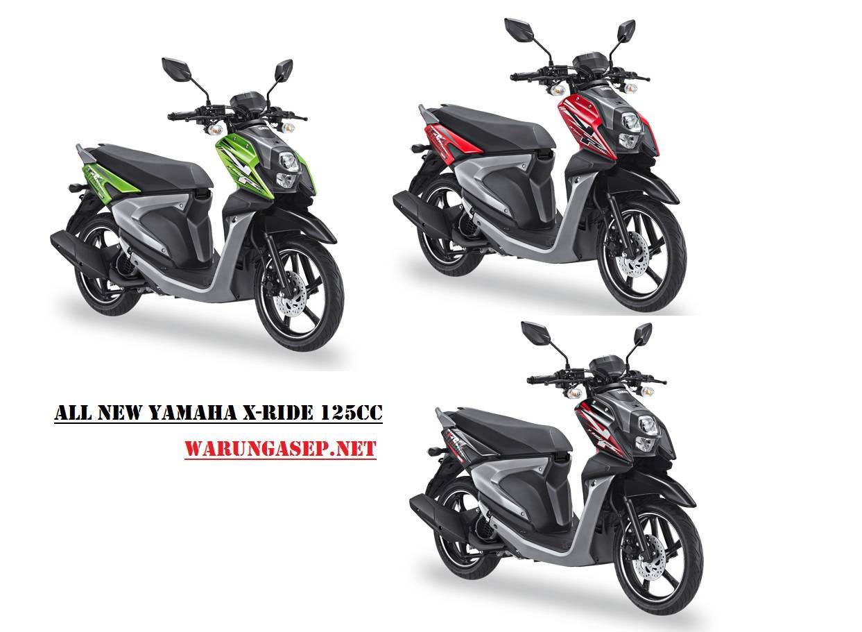 Yamaha X Ride  Blue Core