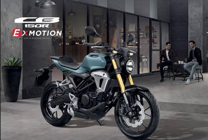 Namanya Honda CB150R Exmotion, Cafe Racer 150cc Honda di ...