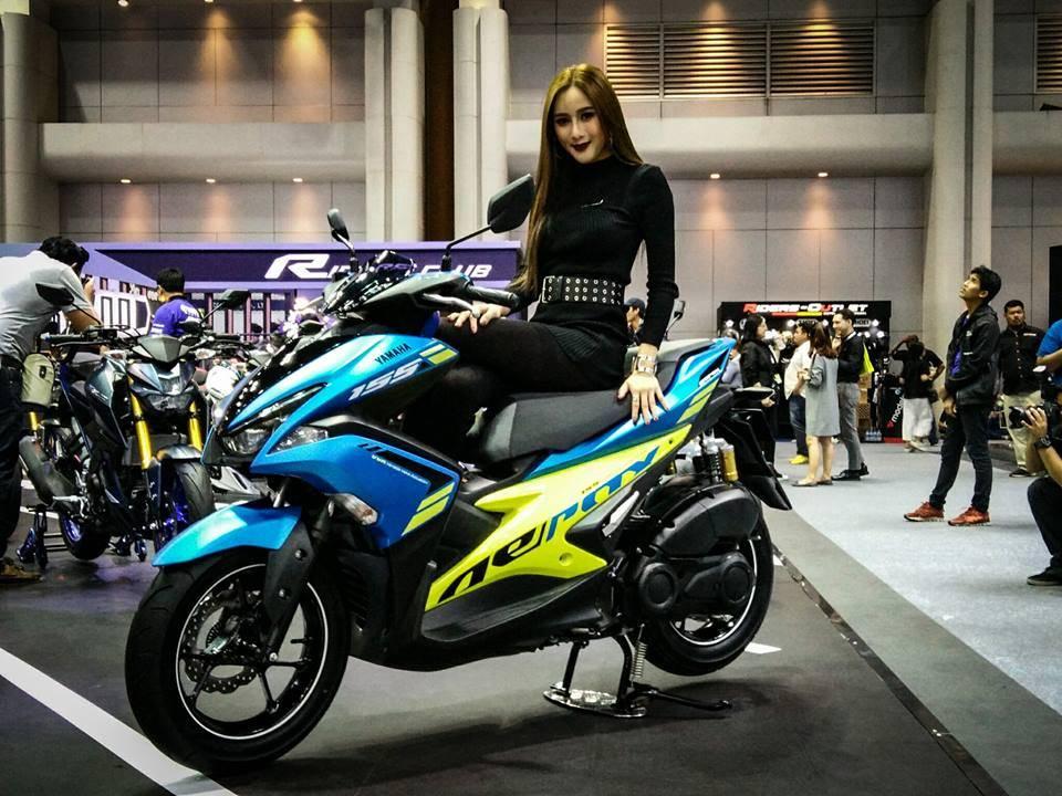 aerox  thailand biru warungasep